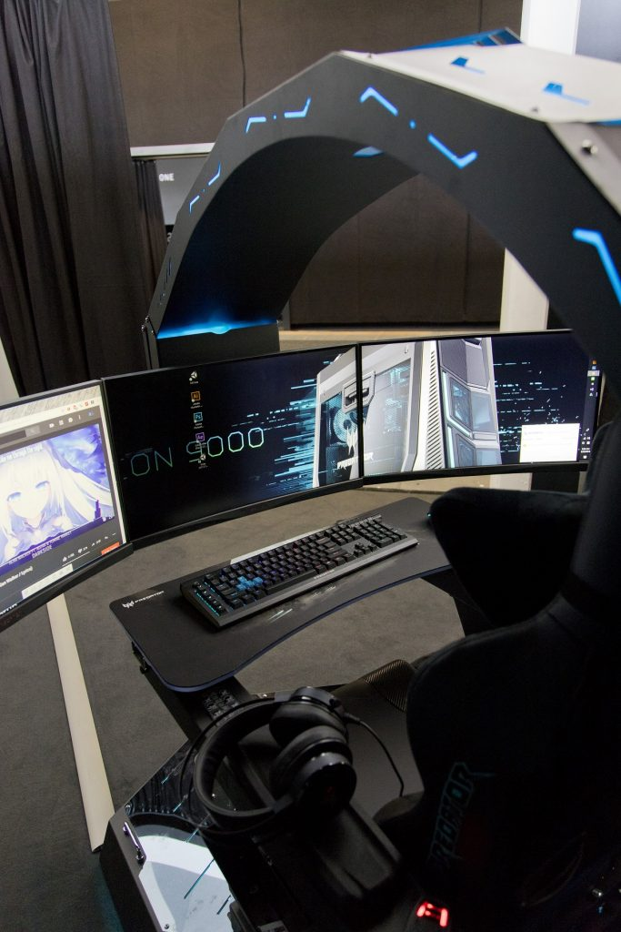 The Ultimate Gaming Cave The Acer Predator Thronos Is