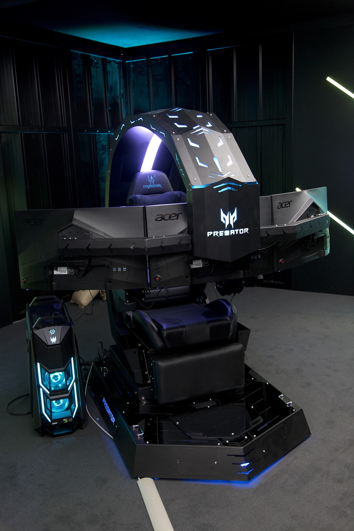 Surprising The Ultimate Gaming Cave The Acer Predator Thronos Is Truly It Short Links Chair Design For Home Short Linksinfo