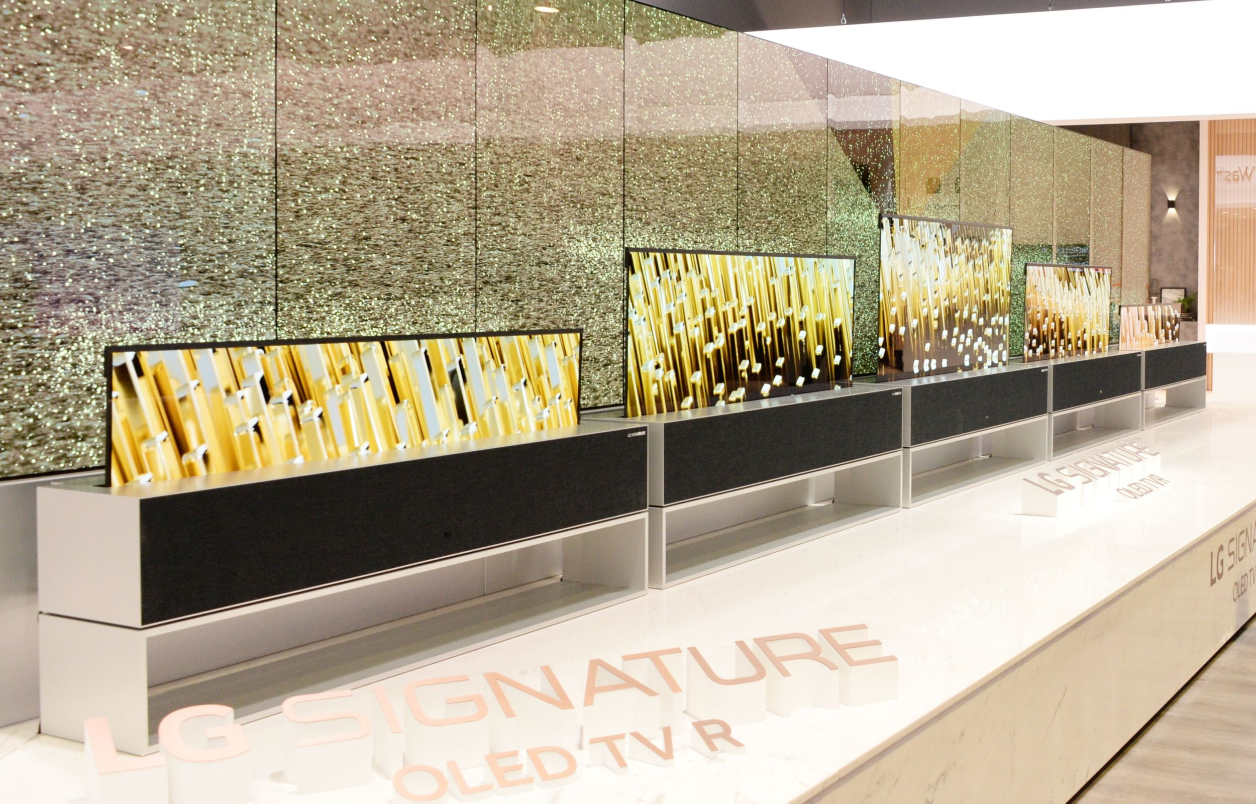 LG's rollable OLED TV is all kinds of awesome
