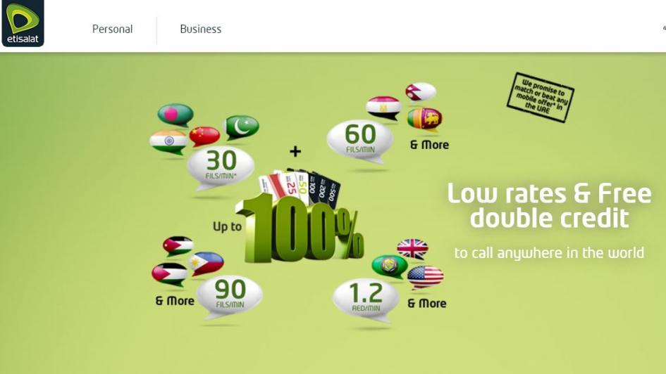 Indian Expats! Etisalat and Du have some great voice and roaming