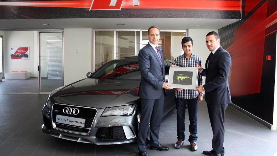 Driving Center Near Me >> Audi inspires young talent in Lebanon